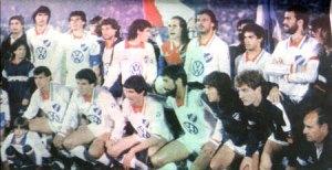 Nacional campeao da Libertadores 88.  Fonte: nacionaldigital.com